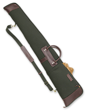 Protect and carry two shotguns in this classic double gun case.