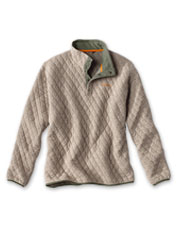 Our Trout Bum Quilted Snap Sweatshirt combines the best of soft comfort and casual style.