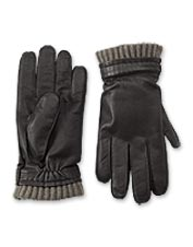 Cashmere and goatskin unite in a pair of handsome gloves sturdy enough for everyday wear.