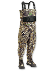 Our bootfoot hunting waders deliver maximum comfort durability and traction.