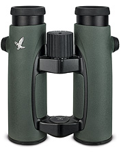 These lightweight binoculars feature a wrap-around grip.