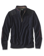 Stylish warmth and functionality are wrapped up in this men's merino quarter-zip sweater.