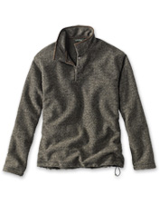 Our Vermont-inspired Green Mountain Fleece warms you without weighing you down.