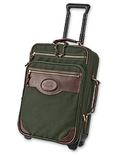 Zippered pockets and expandable space make this rolling carry-on suitcase the one you want.