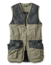 Our Sporting Clays Shooting Vest combines function and durability.