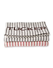 This woven-in-Maine, pure cotton blanket gives your dog anywhere-comfort and security.
