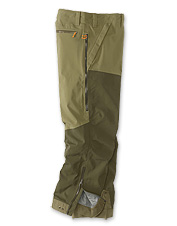 Choose our ToughShell Waterproof Upland Pants for hunting excursions in the thickest cover.