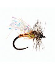 When trout are keyed in on midges and nothing else, tie on this midge pattern.