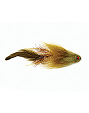 This articulated streamer fly provokes vicious strikes from almost any species.
