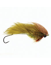 This sculpin streamer fly is designed to attract and land big predatory fish.