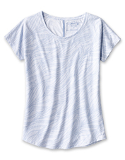 Cooler, more comfortable days begin when you pull on our quick-drying drirelease Printed Tee.