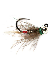 Use this incredibly versatile jig fly pattern when searching for trout in fast, deep water.