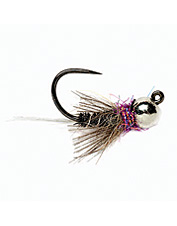 This tactical jig fly effectively imitates the natural motion of a swimming nymph.