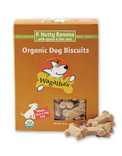 Made in Vermont, these Wagatha's organic dog treats are sure to inspire smiles and tail wags.
