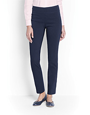 Our updated Slim Stretch Ankle Pants boast pliant comfort and a flattering shape you'll love.