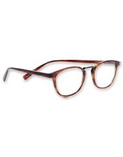These handcrafted reading glasses boast smart technical features and a distinctive silhouette.