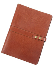 Handsome yet rustic, our buffalo leather tablet case  will travel with you wherever you go.