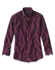 The Heritage Poplin Shirt: versatile, lightweight, and washed down for comfort.