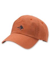 Announce your favorite pastime with the embroidered fly that completes this twill ball cap.