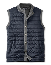Enjoy breathable, seasonal comfort in this just-right men's quilted gilet by Barbour.