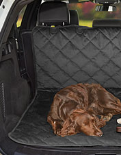 Our microfiber protector stays put while it shields your cargo area from dog hair and dirt.