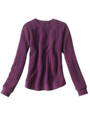 This polished, jacquard-knit crewneck beats an ordinary sweatshirt for both style and comfort.