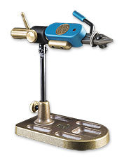 The Regal Revolution fly tying vise features true in-line rotary function for maximum versatility.