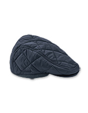 This clever Barbour cap for men conveniently tucks away when you don't need it.