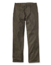 These traditional men's hunting pants are constructed of 100% virgin wool.