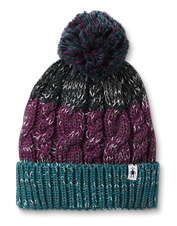 This cheerful Isto Pom-Pom Hat by Smartwool boasts a heavy wool-blend knit to warm your noggin.