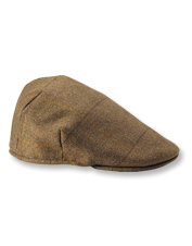 Top off your next hunting adventure with this handsome, water-resistant Tweed Balmoral Cap.