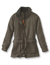 The Ladies' Tweed Coat by Laksen is a durable, breathable option for shooting or exploring.
