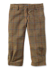These ladies' tweed breeks by Laksen boast treated Scottish wool and a traditional design.
