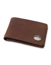 With its minimalist profile, this slim leather billfold still performs like a bigger wallet.