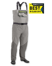 Our Men's Ultralight Convertible Wader offers superior comfort and performance on the water.