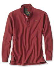 You'll want to live in this ultra-soft, yet incredibly rugged Orvis Signature piqué polo.