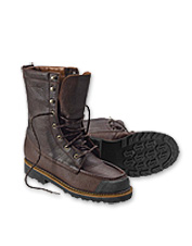 Our Kangaroo Upland Hunting Boots are waterproof, stable and provide superior traction.