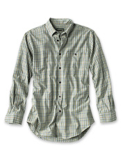 Luxury cotton and merino wool conspire to make this appealing plaid shirt your favorite.