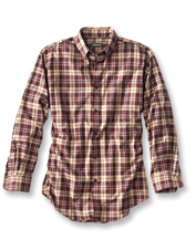 A luxurious cotton and wool blend conspires to make this appealing plaid shirt your go-to.