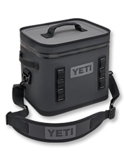 Its generous size makes the YETI Hopper Flip 12 portable cooler ideal for a day-long outing.