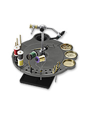 Improve organization and optimize efficiency with this innovative fly tying wheel.