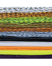 Step up your tying skills with our superb fly-tying material. Made in USA.