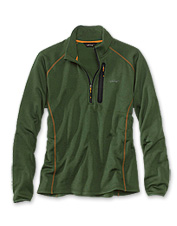 The Big Horn stretch fleece quarter-zip pullover boasts superior performance and comfort.