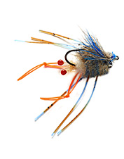 Sink redfish with this lifelike crab fly pattern by Nick Vlahos.