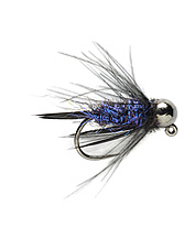 The Prince Nymph fly reimagined, the Purple Reign promises to be deadly for trout.