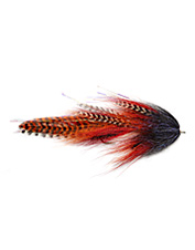 The articulated Roamer streamer fly pattern is suitable for both fresh and saltwater casting.