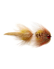 This realistic articulated fly pattern attracts larger predatory fish species.
