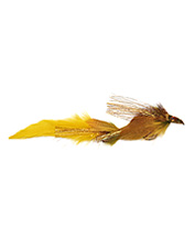 An outsized version of the Drunk and Disorderly, this fly entices predatory fish.