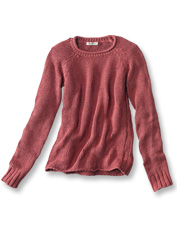 You'll love the subtly faded look and soft hand of our Garment-Dyed Rollneck Sweater.