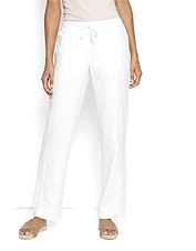Breathable linen makes these appealing pants for women the ones you'll reach for all summer.